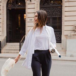 ADAY Something Borrowed Shirt, White, XS